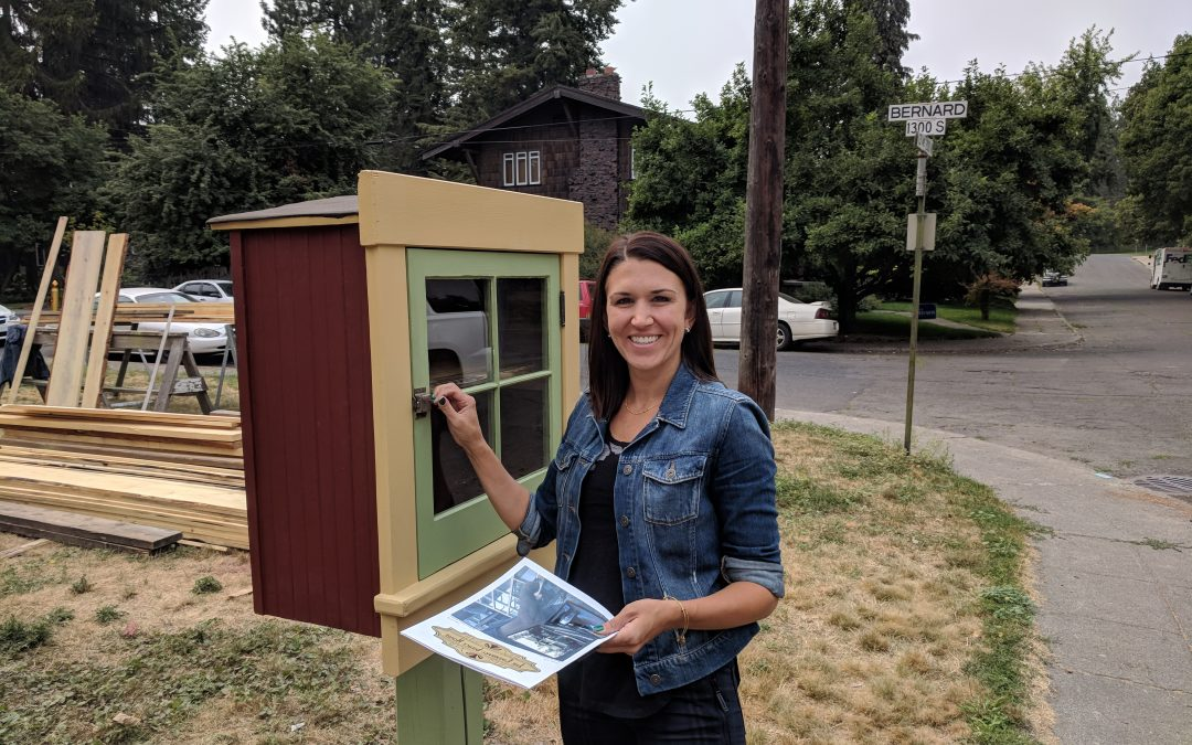 A Little Free Library Is Born!